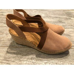 New Born Meade Espadrille Wedges 11 Slip On Shoes